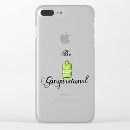 GinSpiration Clear iPhone Case
