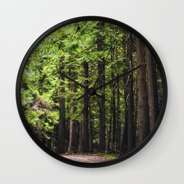 cedars Wall Clock