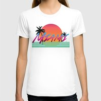 miami T-shirts featuring Miami by TH Graphic Designs