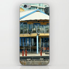 The blue Restaurant iPhone Skin