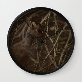 Caught in a strange World Wall Clock
