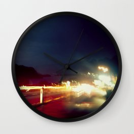 Road & Thunder Wall Clock