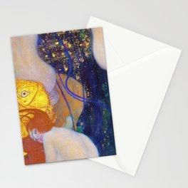 Gustav Klimt - Goldfische - Digital Remastered Edition Stationery Cards