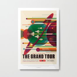 The Grand Tour Metal Print