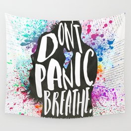 [Exclusive] - The Lovely Reckless - Don't Panic Wall Tapestry