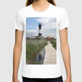 Fire Island Light With Reflection - Long Island T-shirt