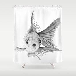 Guppy Shower Curtain