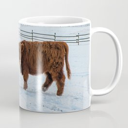 Are you looking at me, Scotish Highland Cow Coffee Mug