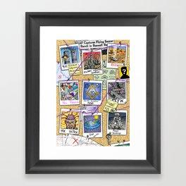 Conspiracy Theorist Framed Art Print