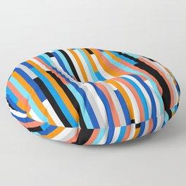 Modern Stripe Floor Pillow