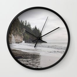Mystic Beach Wall Clock