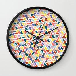 Fall Jigsaw Wall Clock