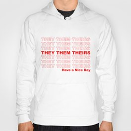 THEY THEM GROCERY PRONOUNS Hoody