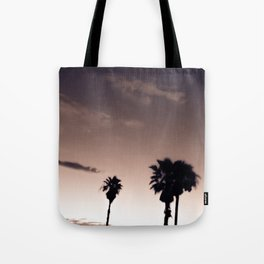Palmetto Trees Tote Bag
