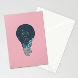 NIGHT BULB Stationery Cards