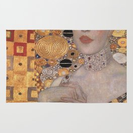 Gustav Klimt -The Woman in Gold Rug