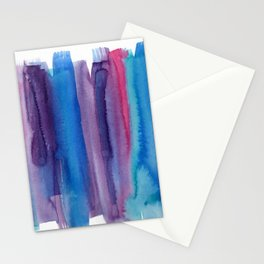 Brushed Watercolor Stationery Cards