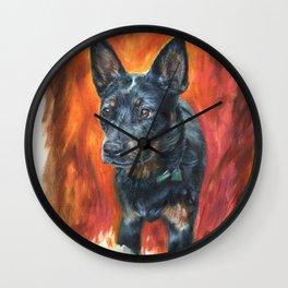 Dog Portrait Wall Clock