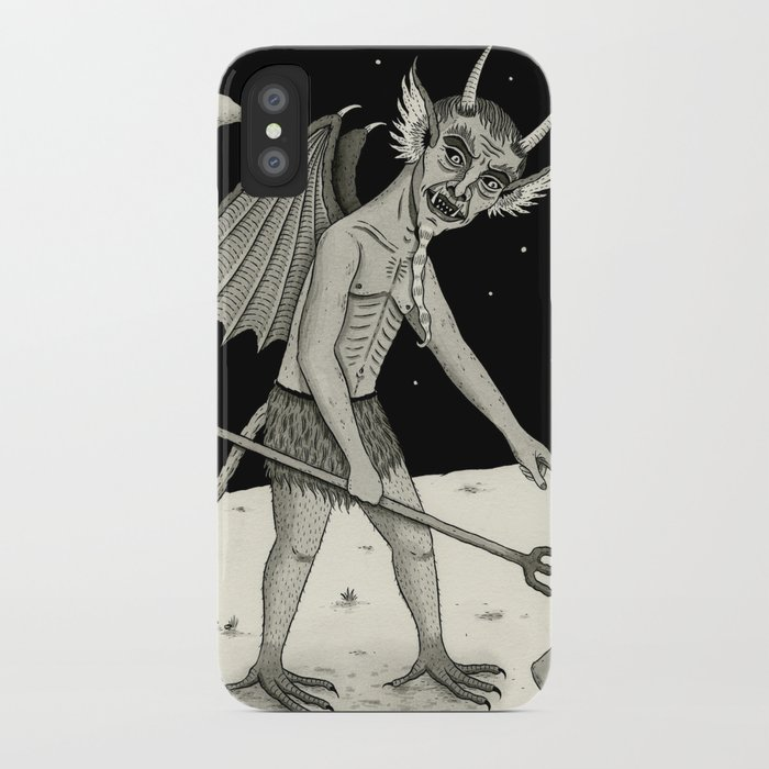 A Diabolical Act of Persuasion iPhone Case