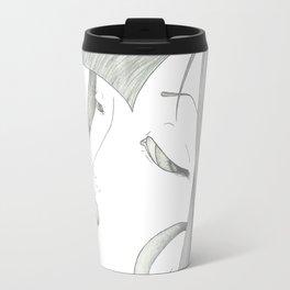 Fed Up Eyes Travel Mug