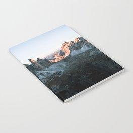 Dolomites sunset panorama - Landscape Photography Notebook