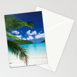 Classic Tropical Island Beach Paradise Stationery Cards