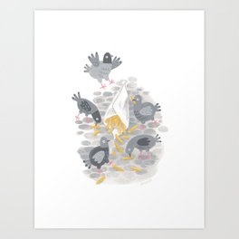 Belgian Fries Art Print