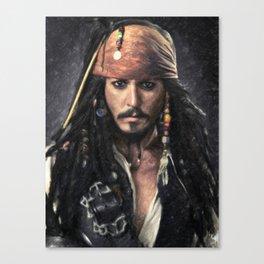 Jack Sparrow Canvas Print