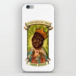 Saint Biggie! iPhone Skin
