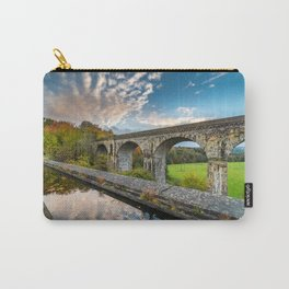 Chirk Aqueduct And Viaduct Carry-All Pouch