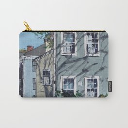 Sunshine on Antique Homes Carry-All Pouch