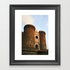 Naples Castle Framed Art Print