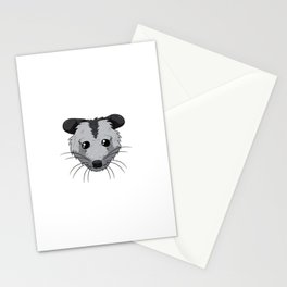 I Love My Cat Opossum Funny Opssums Joke Stationery Cards