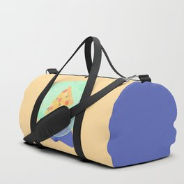 The Future is Pizza Duffle Bag
