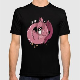 Milk and Cookies Dragon T-shirt