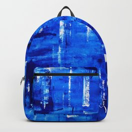 Soft Sea Side Backpack
