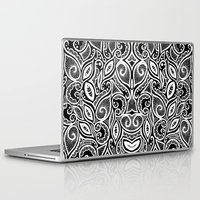 henna Laptop & iPad Skins featuring Henna Inspired by Sidrah  Mahmood