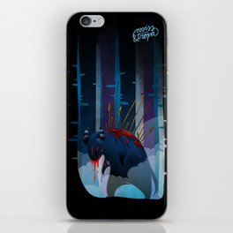The monster iPhone Skin