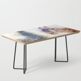 Animals Painting Coffee Table