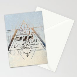 Muggle Stationery Cards