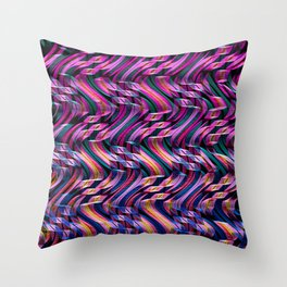 BANDS Throw Pillow