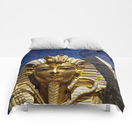 King Tut and Pyramid Comforters