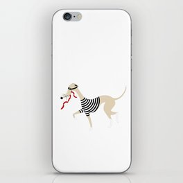 Whippet Thief iPhone Skin