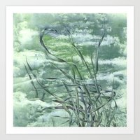 grass Art Prints featuring GRASS by AMULET