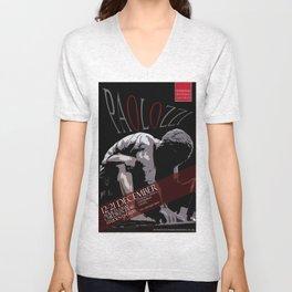Eduardo Paolozzi Poster Design Unisex V-Neck