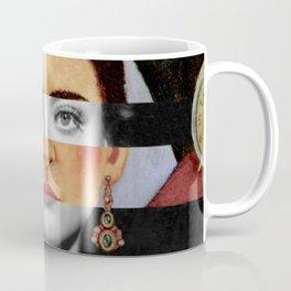 F. K.'s Self Portrait Time Flies & Joan Crawford Coffee Mug