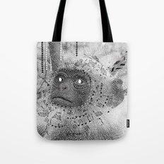 Pow Wow moneky Tote Bag