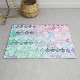 SUMMER MERMAID - CORAL MINT Rug