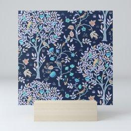 """William Morris """"Kelmscott Tree"""" 2. Mini Art Print"""
