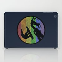 snowboarding iPad Cases featuring snowboarding 2 by Paul Simms